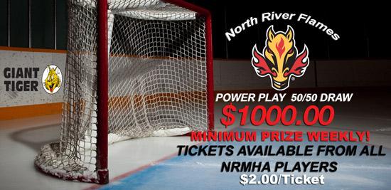 NRMHA Power Play 50/50 Lottery
