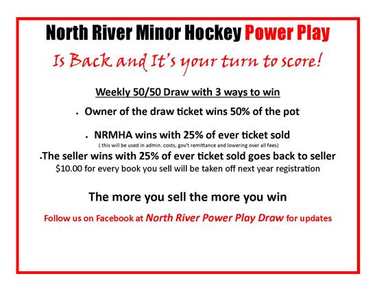 NRMHA Power Play Lottery
