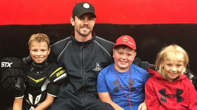 NHL Defenceman Adam Mcquaid Donates Hockey Gear To NRMHA