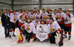 North River Peewee AA Flames