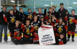 North River Peewee A Iron Horses