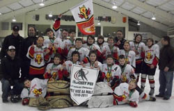 Peewee AA Charlottetown Toyota Flames - 2011 Bell Aliant Cup Provincial Champions