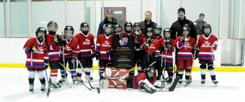 Novice A Tim Hortons Capitals - 2012 Pownal Memorial Tournament Champions