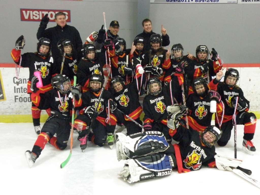 Atom A Dodge Caravan Flames Girls - 2011 Tyne Valley Christmas Tournament Champions