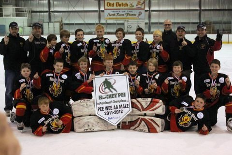 Peewee AA 3Points Aviation Flames - 2012 Bell Aliant Cup Provincial Champions