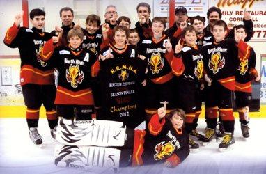 Peewee A Bell Aliant Bombers - 2012 NRMHA Kingston Electrical Season Finale Champions