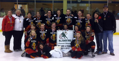 North River Flames Peewee A Girls - 2012 Provincial Champions