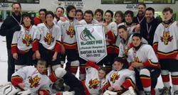 Bantam AA JRs Pizza Flames - 2012 Provincial Champions