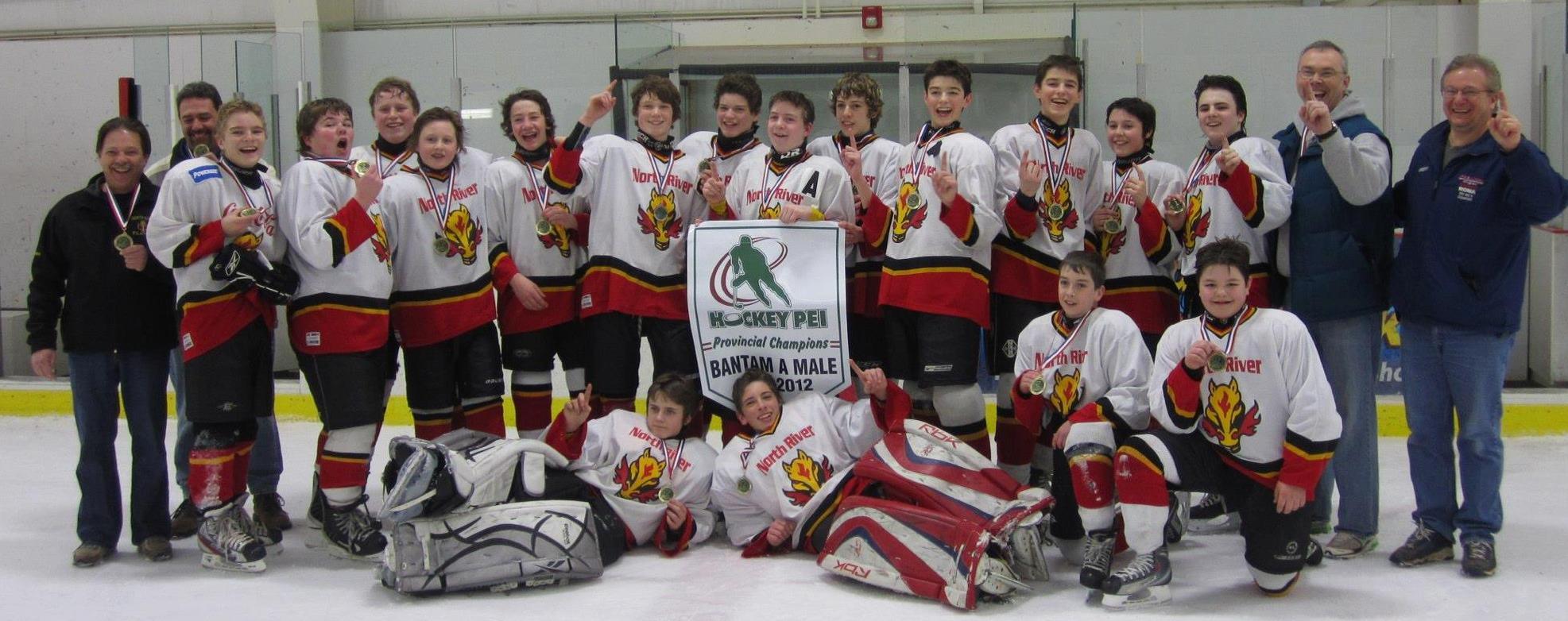 Bantam A Flames Team 3 - 2012 HPEI Provincial Champions