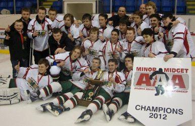 Midget AAA Roberts Petro Canada Matrix - 2012 Minor Midget Atlantic Champions