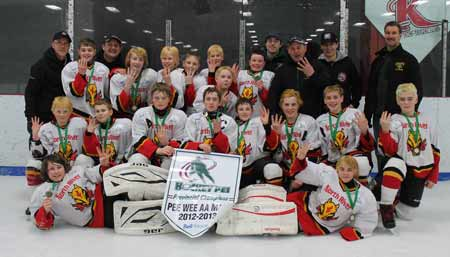 Peewee AA 3Points Aviation Flames - 2013 Bell Aliant Cup Provincial Champions