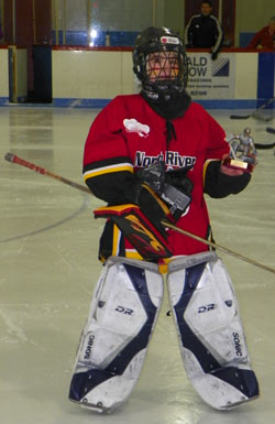 Top Goalie In Ihe 2013 Alberton Memorial Peewee A Girls Tournament