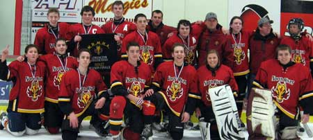 2012-13 Midget A Countryview Golf Club Flames