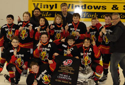 2013-14 Peewee A Jacks Truck Wash Warriors