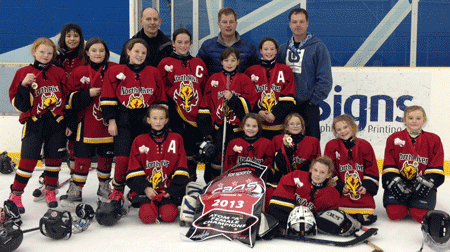 2013 Summerside Source for Sports Atom A Female Champions