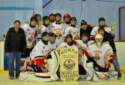 2015-16 Midget A Team 2