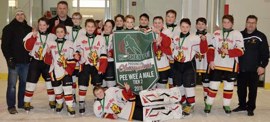 2017-18 Peewee A 2 Attack