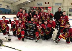 2018-19 Peewee A 1 Riot