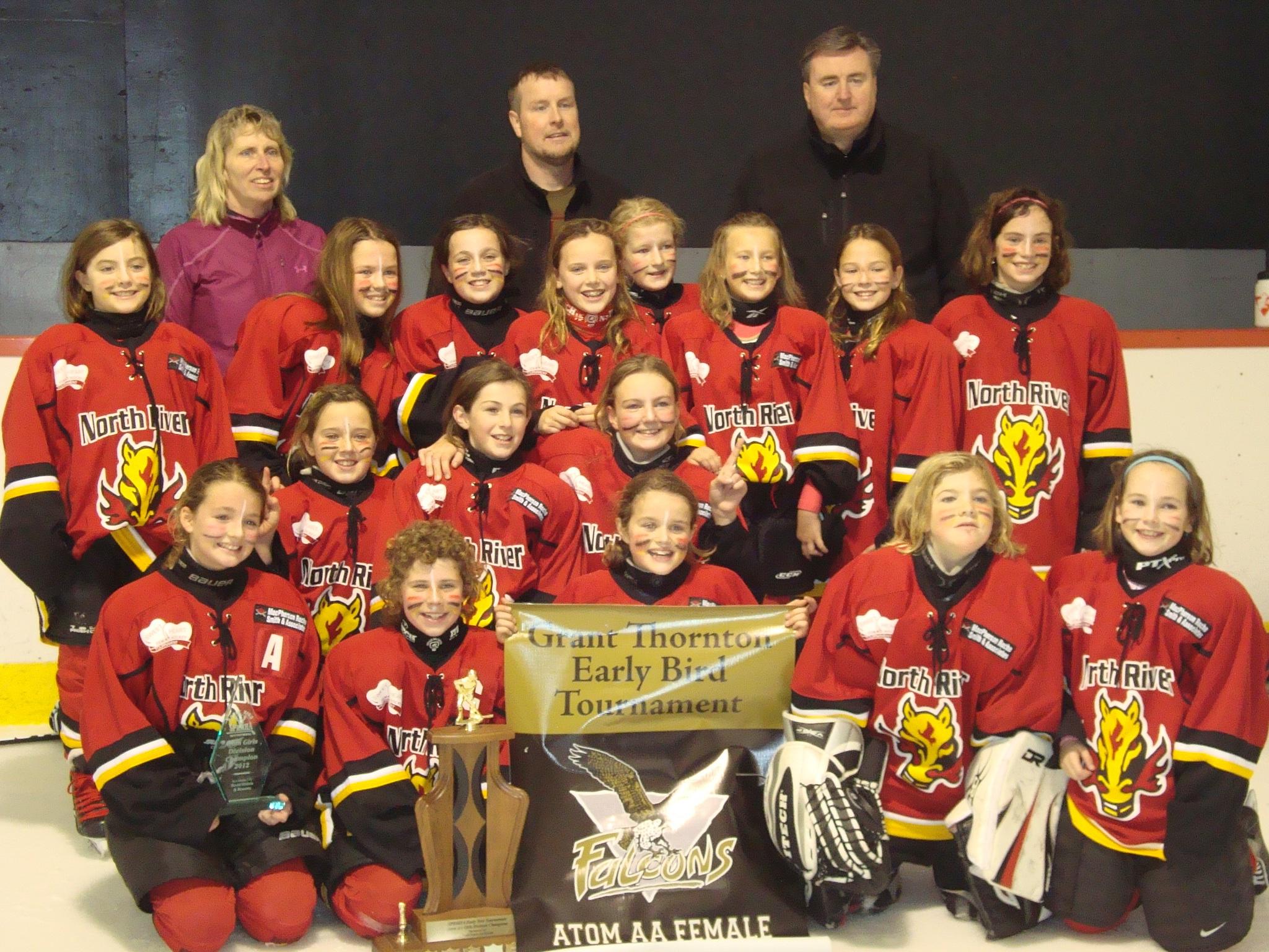2012-13 Atom A Caravan Kids MacPherson Roche Smith & Associates Flames