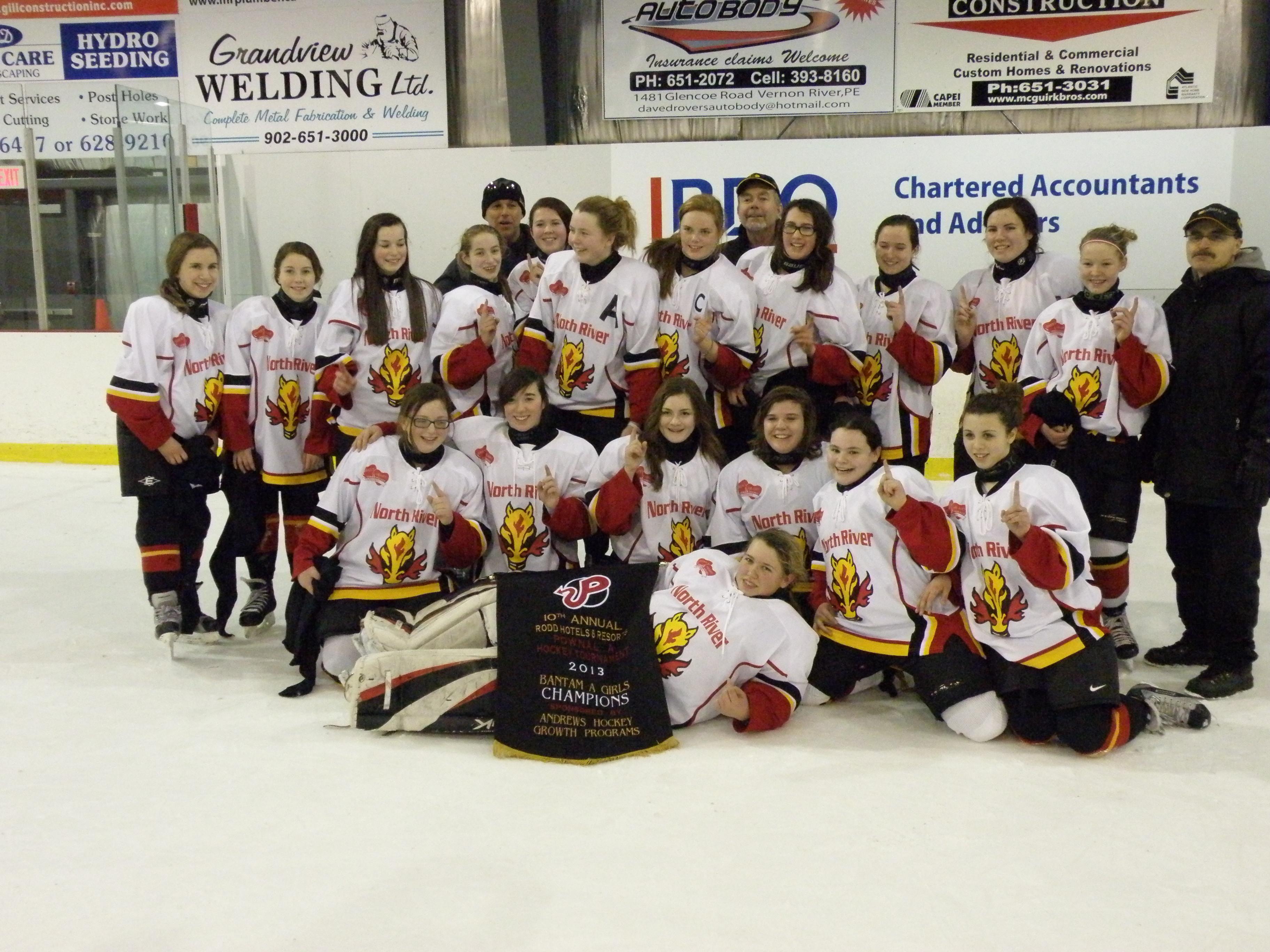 2012-13 Bantam A Flames