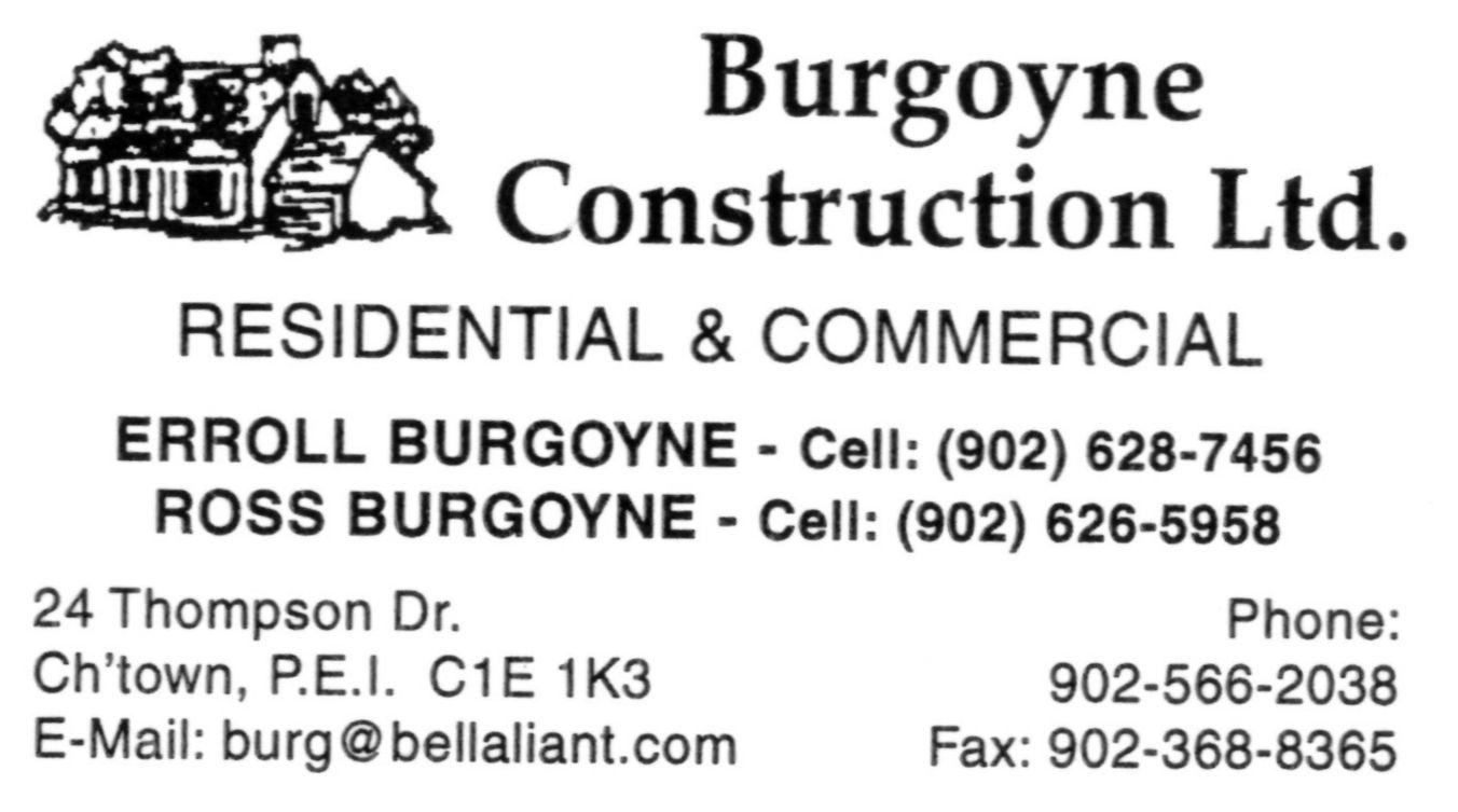 Burgoyne Construction Ltd.